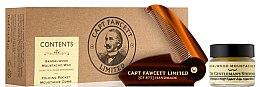 Парфюми, Парфюмерия, козметика Комплект за мустаци - Captain Fawcett Sandalwood (вакса/15ml + гребен)