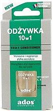Парфюмерия и Козметика Балсам за нокти 10 в 1 - Ados 10in1 Conditioner