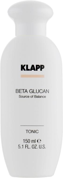 Тоник за лице - Klapp Beta Glucan Tonic — снимка N2
