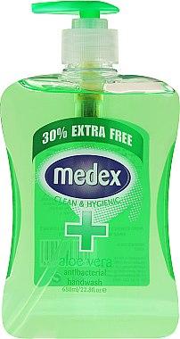 Антибактериален сапун - Xpel Marketing Ltd Medex Aloe Vera Handwash — снимка N1