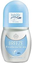 Парфюмерия и Козметика Breeze Roll-On Deo Freschezza Talcata - Рол-он дезодорант