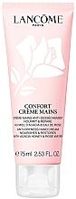 Парфюмерия и Козметика Овлажняващ и възстановяващ крем за ръце с екстракт от акациев мед и розова вода - Lancome Confort