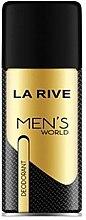 Парфюми, Парфюмерия, козметика La Rive Men's World - Дезодорант