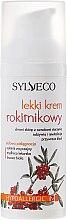Лек крем за лице с облепиха - Sylveco — снимка N2