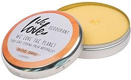 "Парфюмерия и Козметика Натурален кремообразен дезодорант ""Original Orange"" - We Love The Planet Deodorant Original Orange"
