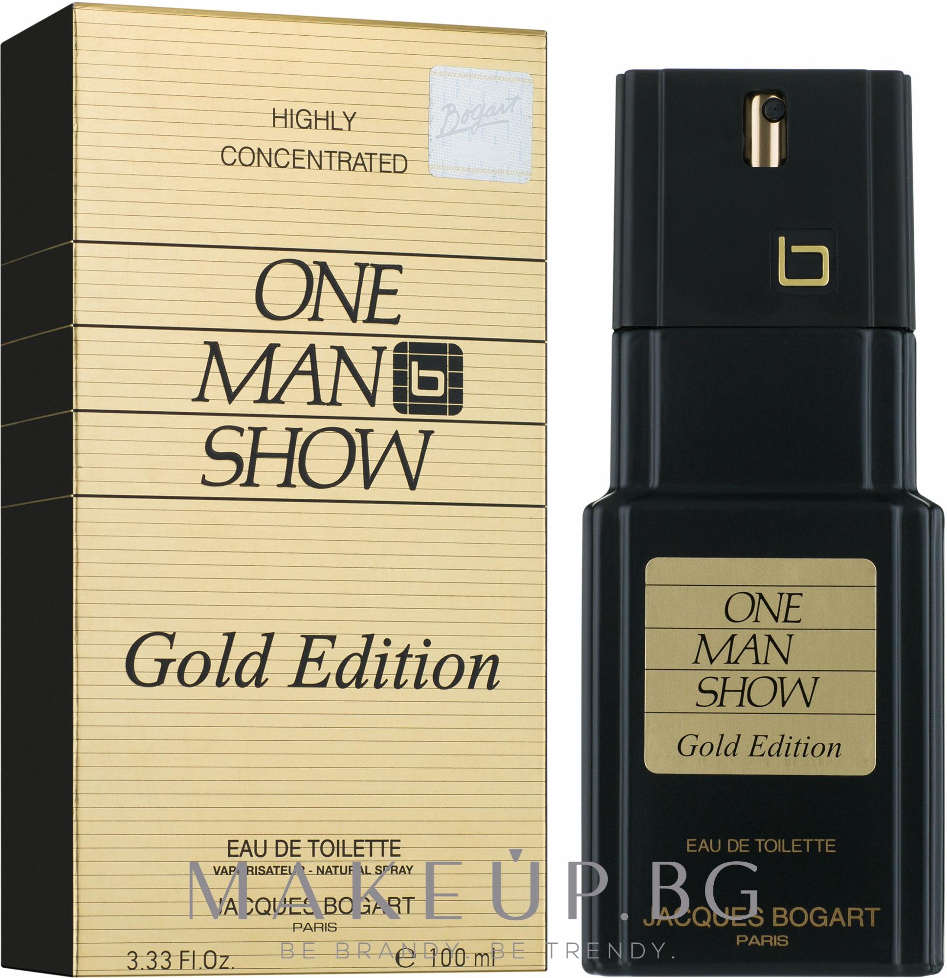 Bogart One Man Show Gold Edition - Тоалетна вода — снимка 100 ml