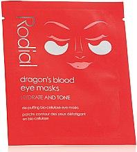 Парфюмерия и Козметика Маска-пач за околоочния контур - Rodial Dragon's Blood Eye Masks