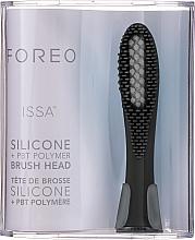 Парфюмерия и Козметика Сменяема глава за електрическа четка за зъби - Foreo Issa Hybrid Brush Head Cool Black
