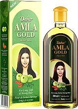 "Масло за коса ""Злато"" - Dabur Amla Gold Hair Oil — снимка N3"