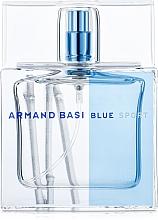 Парфюмерия и Козметика Armand Basi Blue Sport - Тоалетна вода