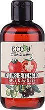 Парфюмерия и Козметика Измиващ гел за лице с екстракт от домат и маслина - Eco U Face Cleanser