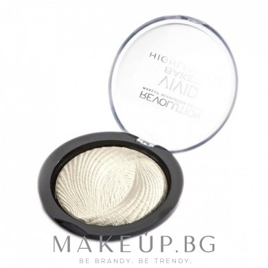 Хайлайтър за лице - Makeup Revolution Highlighting — снимка Golden Lights