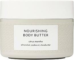 Парфюмерия и Козметика Подхранващо масло за тяло - Estelle & Thild Citrus Menthe Nourishing Body Butter