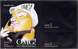 Парфюми, Парфюмерия, козметика Почистваща маска за лице 3 в 1 - Double Dare OMG! 3in1 Kit Peel Off Mask