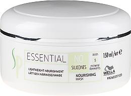 Парфюмерия и Козметика Подхранваща маска за коса - Wella SP Essential Nourishing Mask