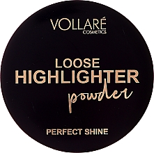 Парфюмерия и Козметика Насипен хайлайтър за лице - Vollare Loose Highlighter Powder Perfect Shine (тестер)