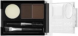Парфюмерия и Козметика Сенки за вежди - NYX Professional Makeup Eyebrow Cake Powder