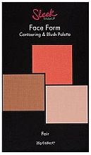 Парфюмерия и Козметика Палитра за контуриране - Sleek Makeup Face Form Ultimate Contour Kit Fair