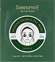 Парфюмерия и Козметика Хидрогел пачове за очи - Shangpree Marine Energy Eye Mask