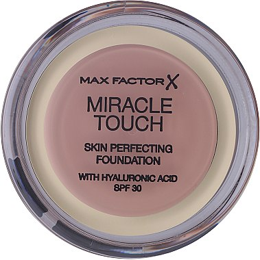 Фон дьо тен-пудра за лице - Max Factor Miracle Touch Skin Perfecting Foundation SPF30 — снимка N2