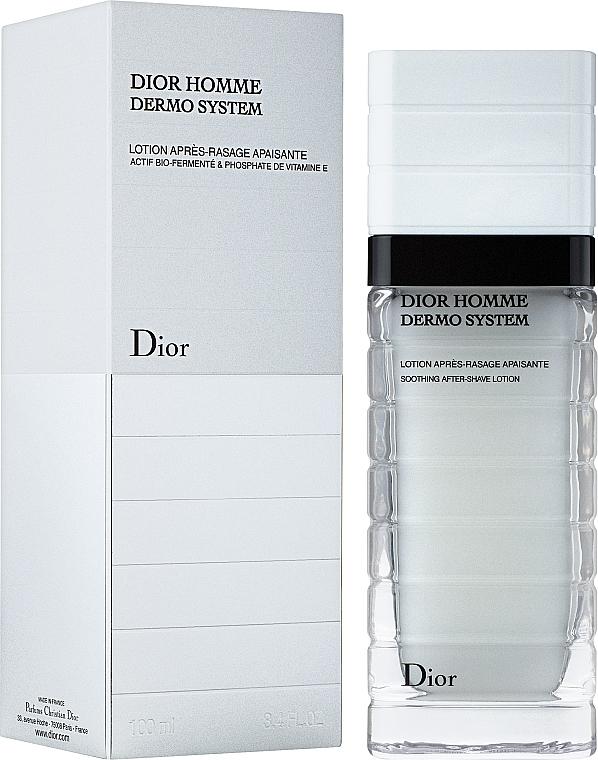 Хидратиращ лосион за лице - Dior Homme Dermo System Repairing After-Shave Lotion 100ml — снимка N1