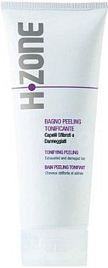 Пилинг за изтощена и увередена коса - H.Zone Bagno Peeling Tonificante — снимка N1