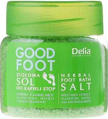 Соли за крака - Delia Cosmetics Good Foot Herbal Foot Bath Salt — снимка N1