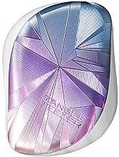 Парфюми, Парфюмерия, козметика Четка за коса - Tangle Teezer Compact Styler Smashed Holo Blue