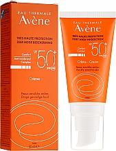 Парфюмерия и Козметика Слънцезащитен крем за лице - Avene Eau Thermale Sun Cream SPF50