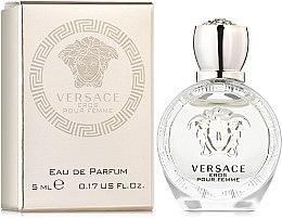 Парфюмерия и Козметика Versace Eros Pour Femme - Парфюмна вода (мини)