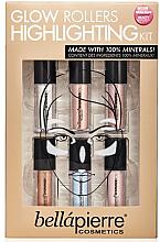 Парфюми, Парфюмерия, козметика Комплект хайлайтъри за лице - Bellapierre Glow Roller Highlighting Kit