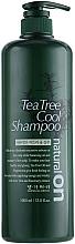 Парфюмерия и Козметика Охлаждащ шампоан за коса с чаено дърво - Daeng Gi Meo Ri Naturalon Tea Tree Cool Shampoo