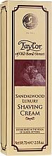Парфюмерия и Козметика Крем за бръснене със сандалово дърво - Taylor Of Old Bond Street Sandalwood Luxury Shaving Cream (в тубичка)