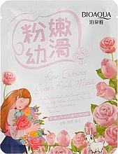 Парфюми, Парфюмерия, козметика Избелваща маска с екстракт от роза и козе мляко - BioAqua Natural Extract Mask