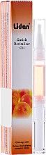Парфюмерия и Козметика Козметичен маслен молив с аромат на портокал - Lidan Curticle Revitalizer Orange Oil