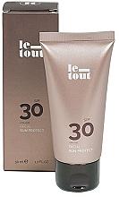 Парфюмерия и Козметика Слънцезащитен крем за лице SPF 30 - Le Tout Facial Sun protect