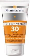 Парфюмерия и Козметика Овлажняваща слънцезащитна емулсия за тялото - Pharmaceris S Sun Body Protective Sun Lotion for the Body SPF 30