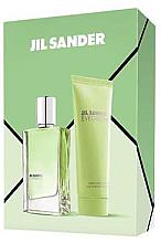 Парфюми, Парфюмерия, козметика Jil Sander Evergreen - Комплект (тоал. вода/30ml + лосион за тяло/75ml)