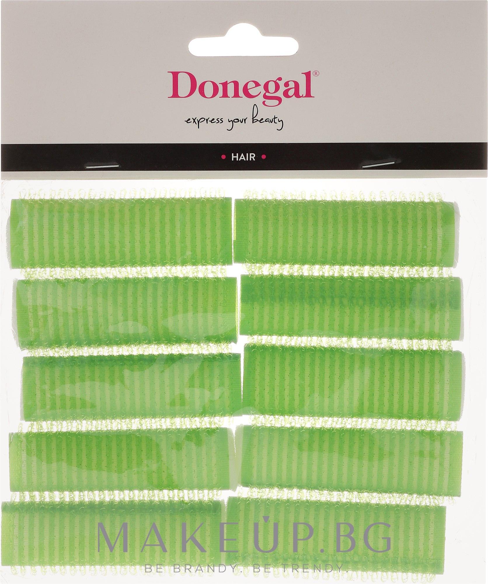 Велкро ролки за коса , 20 мм, 10 бр. - Donegal Hair Curlers — снимка 10 бр