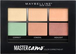Парфюми, Парфюмерия, козметика Палитра с коригиращ коректор за лице - Maybelline Master Camo Color Correcting Concealer Kit