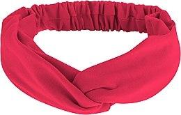 """Парфюмерия и Козметика Лента за глава, от плат, корал """"Knit Twist"""" - MakeUp Hair Accessories"""