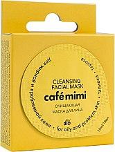 """Парфюмерия и Козметика Почистваща маска за мазна и проблемна кожа """"Тапиока"""" - Cafe Mimi Cleansing Mask"""