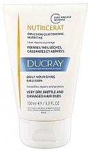 Парфюмерия и Козметика Емулсия за суха и увредена коса - Ducray Nutricerat Daily Nourishing Emulsion
