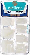 Парфюмерия и Козметика Удължители за нокти, d/k - Silcare Tipsy Exellent Natural