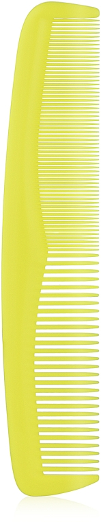 Гребен за коса 60212, жълт - Top Choice Colours — снимка N1