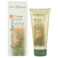 Парфюмерия и Козметика Крем за тяло - Frais Monde Muschio Bianco 87 White Musk Body Cream