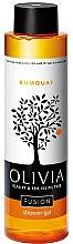 Парфюмерия и Козметика Душ гел с кумкуат - Olivia Beauty & The Olive Tree Fusion Kumquat Shower Gel