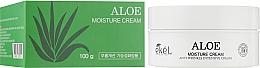 Парфюмерия и Козметика Хидратиращ крем за лице с алое - Ekel Aloe Moisture Cream
