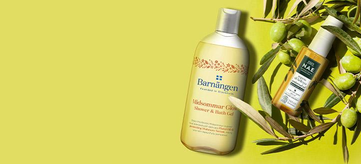 Намаление 20% на промоционални продукти Barnangen и N.A.E. Посочената цена е след обявената отстъпка