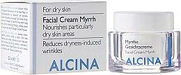 Парфюми, Парфюмерия, козметика Хидратиращ крем за лице със смирна за суха кожа - Alcina T Facial Cream Myrrh